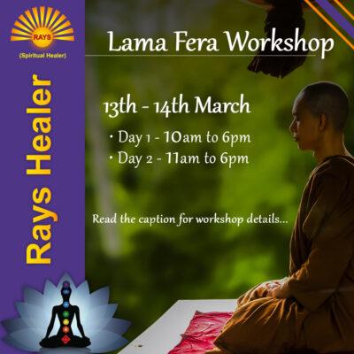 RAYS Spiritual Healer - lama fera 2-2